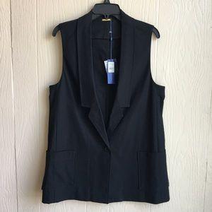 Rebecca Minkoff Tribecca Black Vest